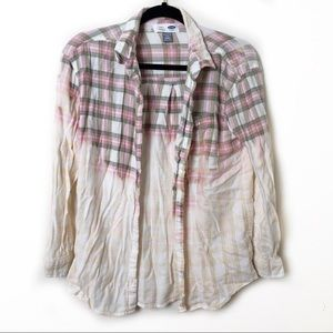 Old Navy (Kids) Bleached Flannel